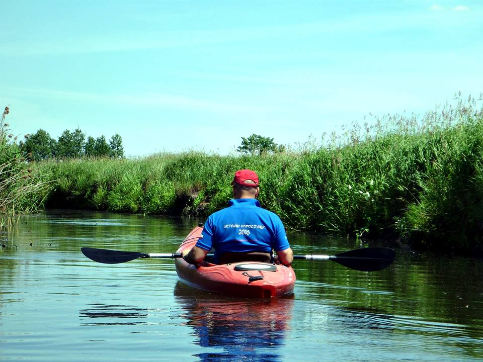 Spływ kajakowy po Zielawie i Krznie