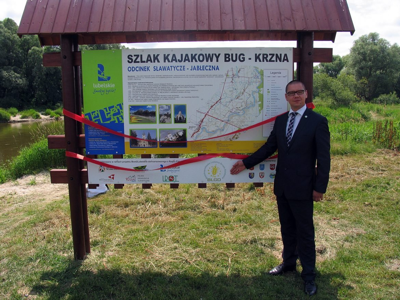 szlak kajakowy Bug Krzna - Mariusz Kostak - otwarcie szlaku kajakowego Bug - Krzna