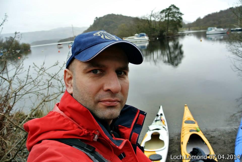 spływ po Loch Lomond
