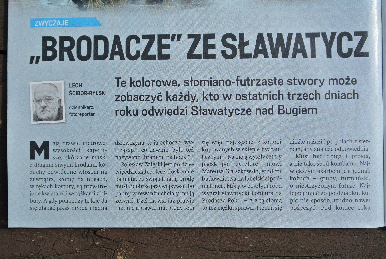 Brodacze ze Sławatycz - Lech Ścibor Rylski