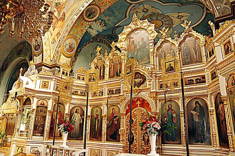 Jabłeczna - Carskie Wrota w Monasterze w Jabłecznej.