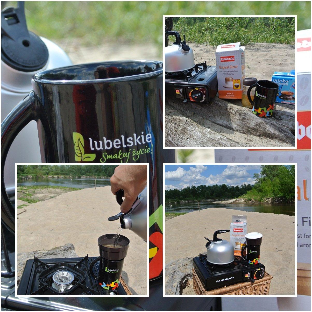 Malownicza rzeka Bug. Coffee break na piaszczystej plaży w Mościcach Dolnych