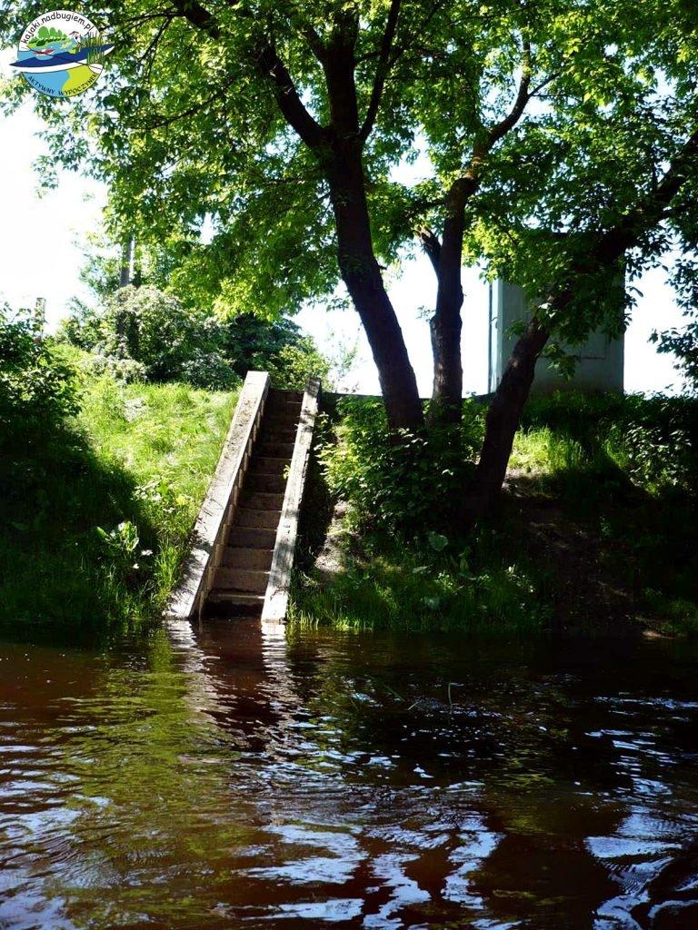 Szlak kajakowy Poleska Dolina Bugu - włodawski wodowskaz