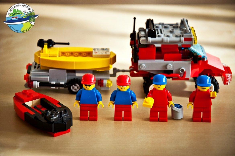 Lego przygoda nad Bugiem. Lego przygoda w kajaku