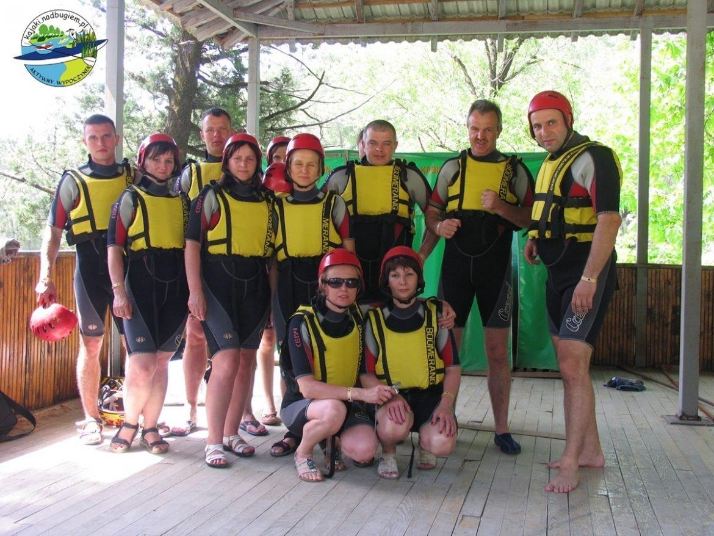 rafting po rzece Koprolu
