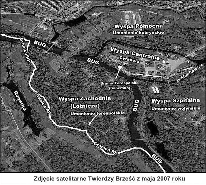 granica na Bugu w Terespolu