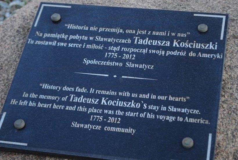 Slawatycze - kajakiem śladami Tadeusza Kościszki