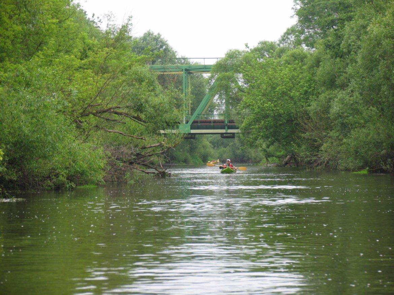 Rzeka Leśna - spływ kajakowy w obwodzie brzeskim