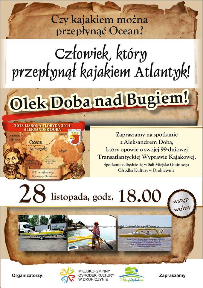 Olek Doba w Drohiczynie