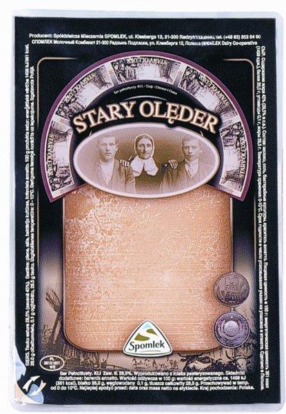 Olęderski ser długo dojrzewający, Ser stary olender