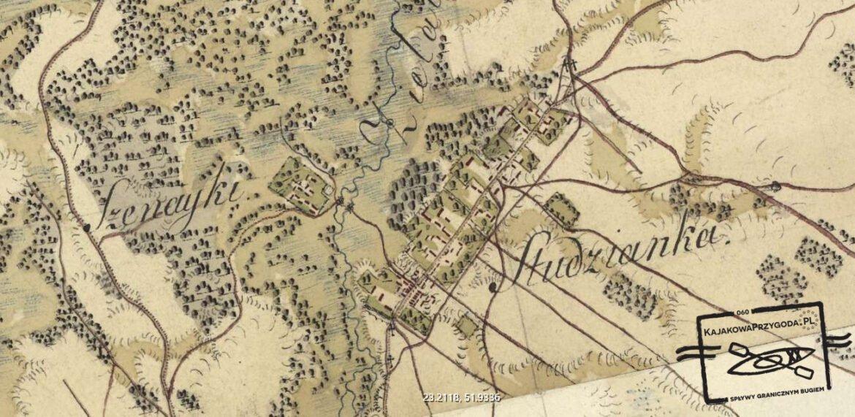 Mapa Studzianki
