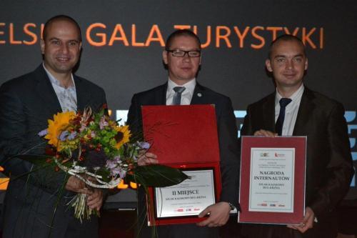 Gala Wręczenia nagród - najlepszy produkt turystyczny w Polsce.