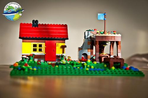 Lego city przygoda w kajaku nad Bugiem.