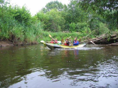 rzeka Leśna - Białoruś, prawy dopływ Bugu - spływy kajakowe Brześć, Spływ kajakowy po rzece Leśnej
